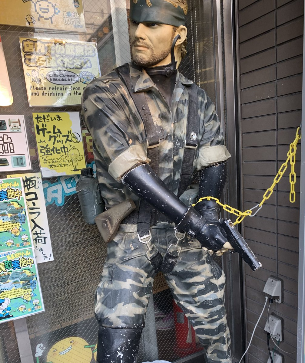 総合ランキング1位の えるだー実は特殊部隊(海兵隊)から転職らしい?撮影場所 日本橋電気街