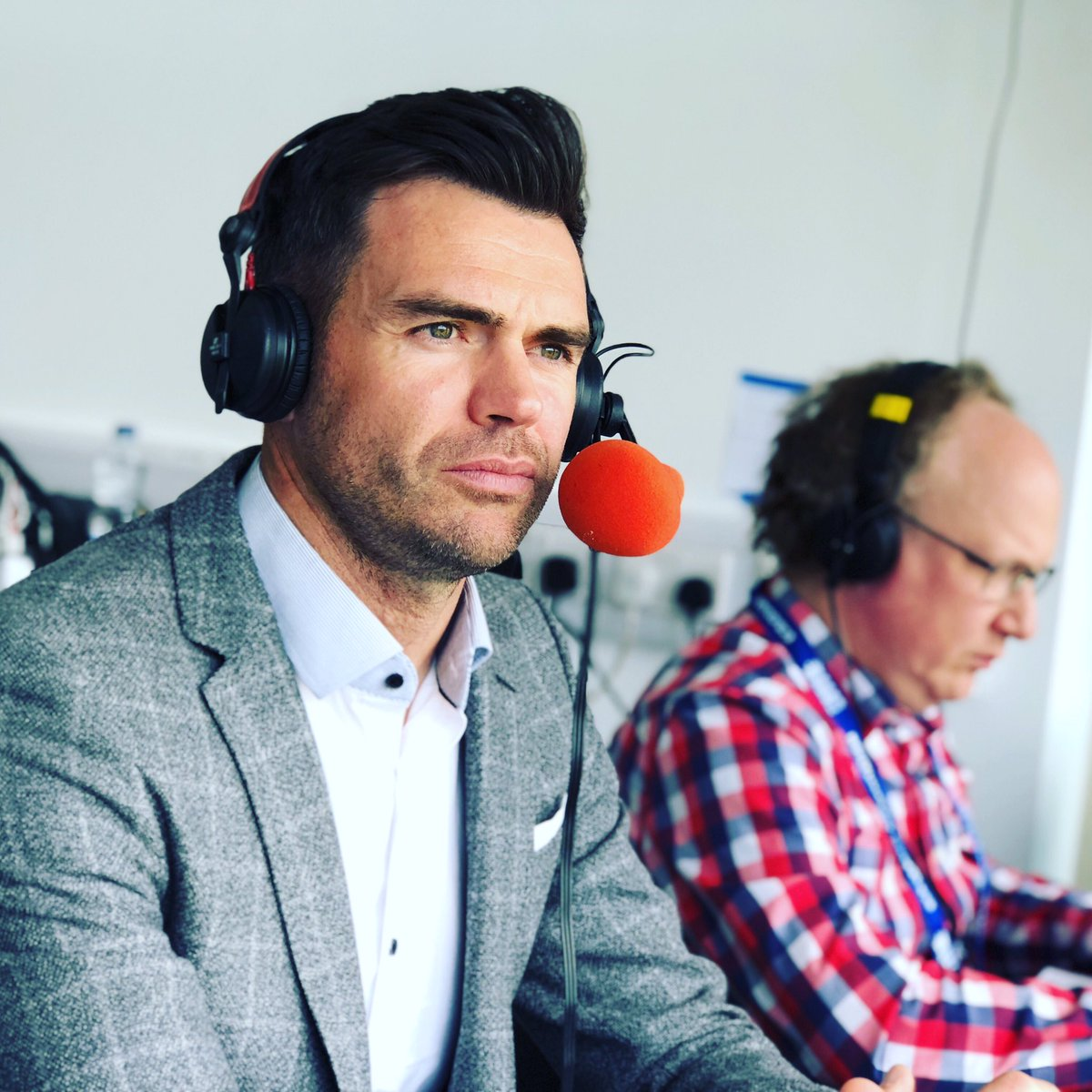 The @bbctms team for the 2nd ODI today.   @isaguha  @Cricket_Mann  @CharlesDagnall  @norcrosscricket  @MichaelVaughan  @philtufnell  @iramizraja  & @jimmy9   On air 1045am.   #bbccricket #ENGvPAK