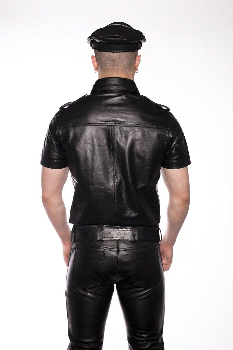 Can jocks leather jacket fetish