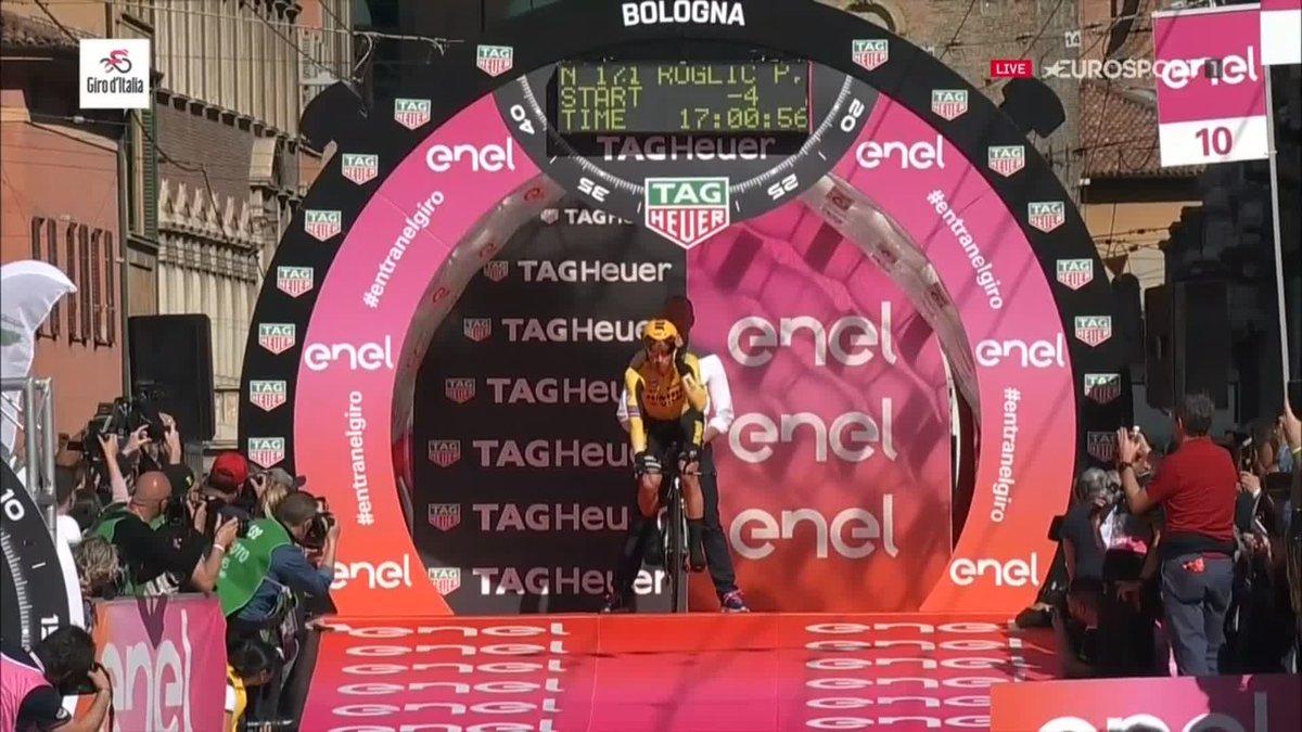 Primoz Roglic snelste renner in proloog Giro d'Italia, Dumoulin slechts vijfde