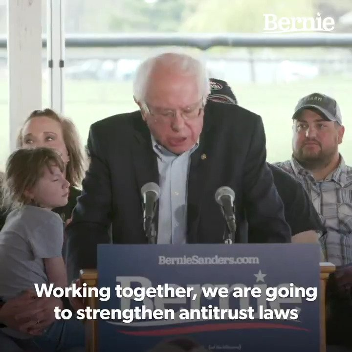 This will require breaking up the money monopoly, rescinding FASAB 56 and promoting US government transparency with place based financial statements and budgets...if you are serious Senator Sanders...