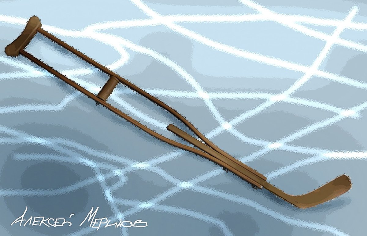 Путін після хокейного матчу в Сочі гепнувся на килимок, який лежав на льоду - Цензор.НЕТ 40