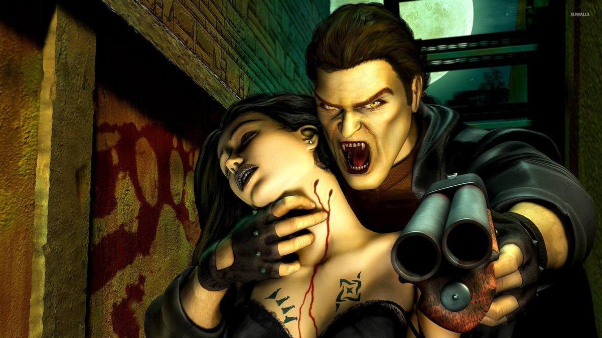Вампиры в играх картинки