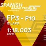 [INFO] 🇪🇸 Carlos Sainz, décimo en los Libres 3 del GP de España 👉 https://t.co/76icBfwgTL  🇬🇧 Carlos Sainz, tenth in Free Practice 3 at the Spanish GP 👉https://t.co/K0BtyUIMgW        #carlo55ainz #SpanishGP 🇪🇸 #F1 #FP3