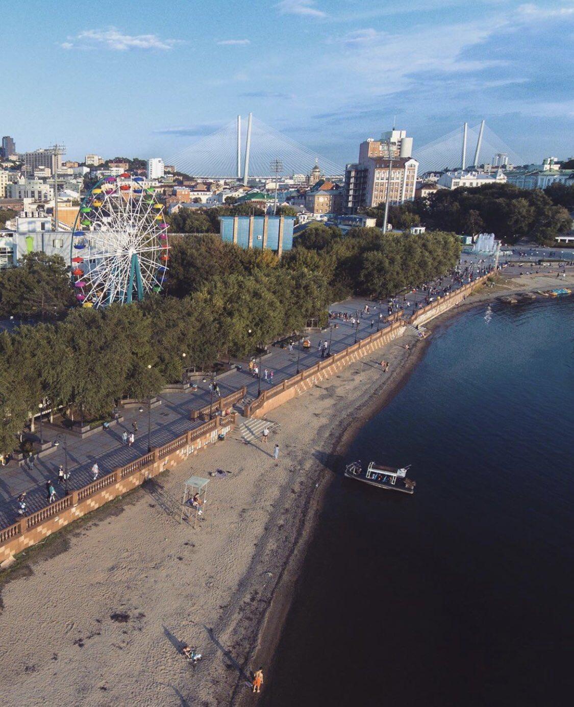 фото города владивостока набережная омелы подробное