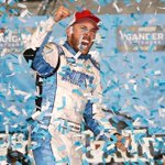 HE DID IT! Congrats @RossChastain!