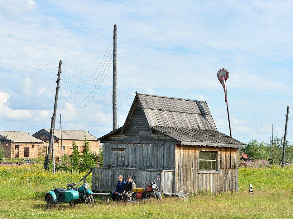 фото деревни курейка всего
