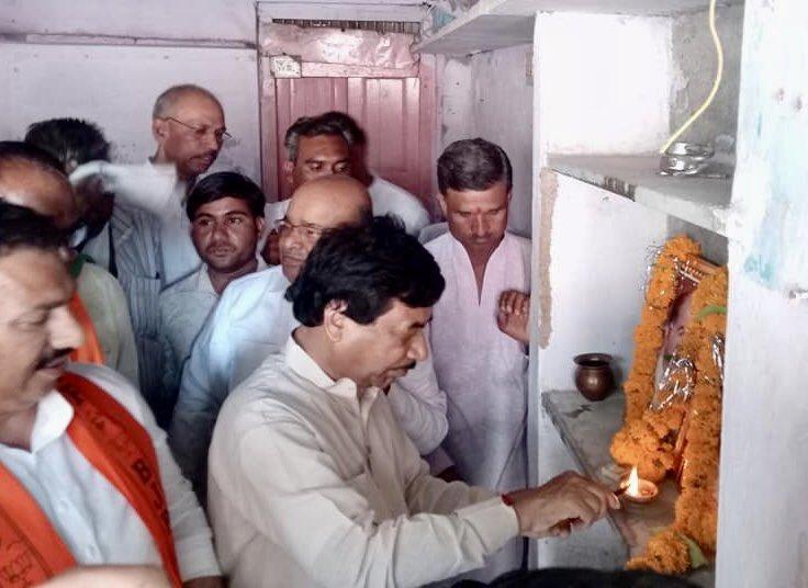 उज्जैन-आलोट संसदीय क्षेत्र में भाजपा चुनाव कार्यालय उन्हेल का शुभारंभ किया गया ।