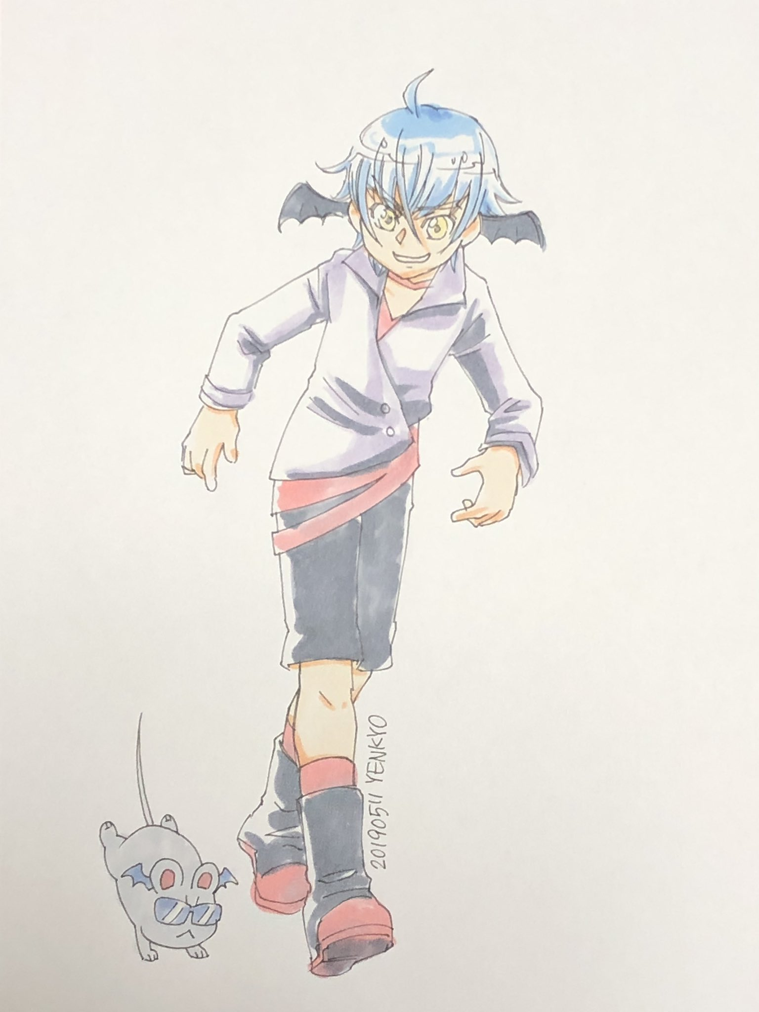 yenkyo📚メロブ通販 (@yenkyo)さんのイラスト