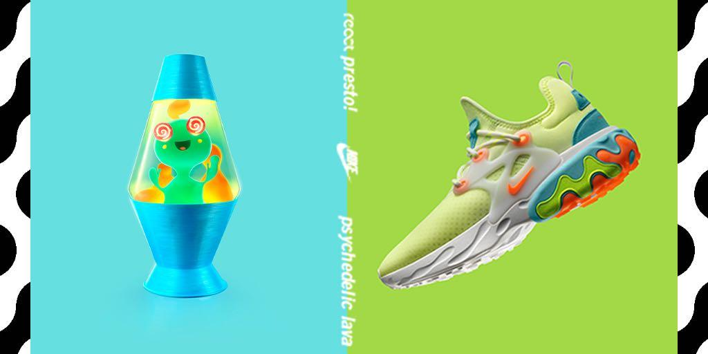 4ea4e6e18b13 ... Family  Nike React Presto   Psychedelic Lava  launches in select stores    online 5 16 along with a few other eye catching colorways.  Hibbett Learn  More ...