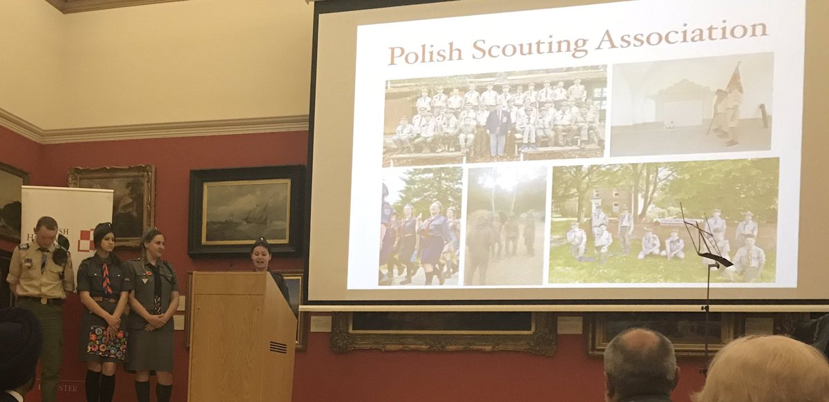 Also pleased to hear about the Polish Scouting Association and its presence in the UK.