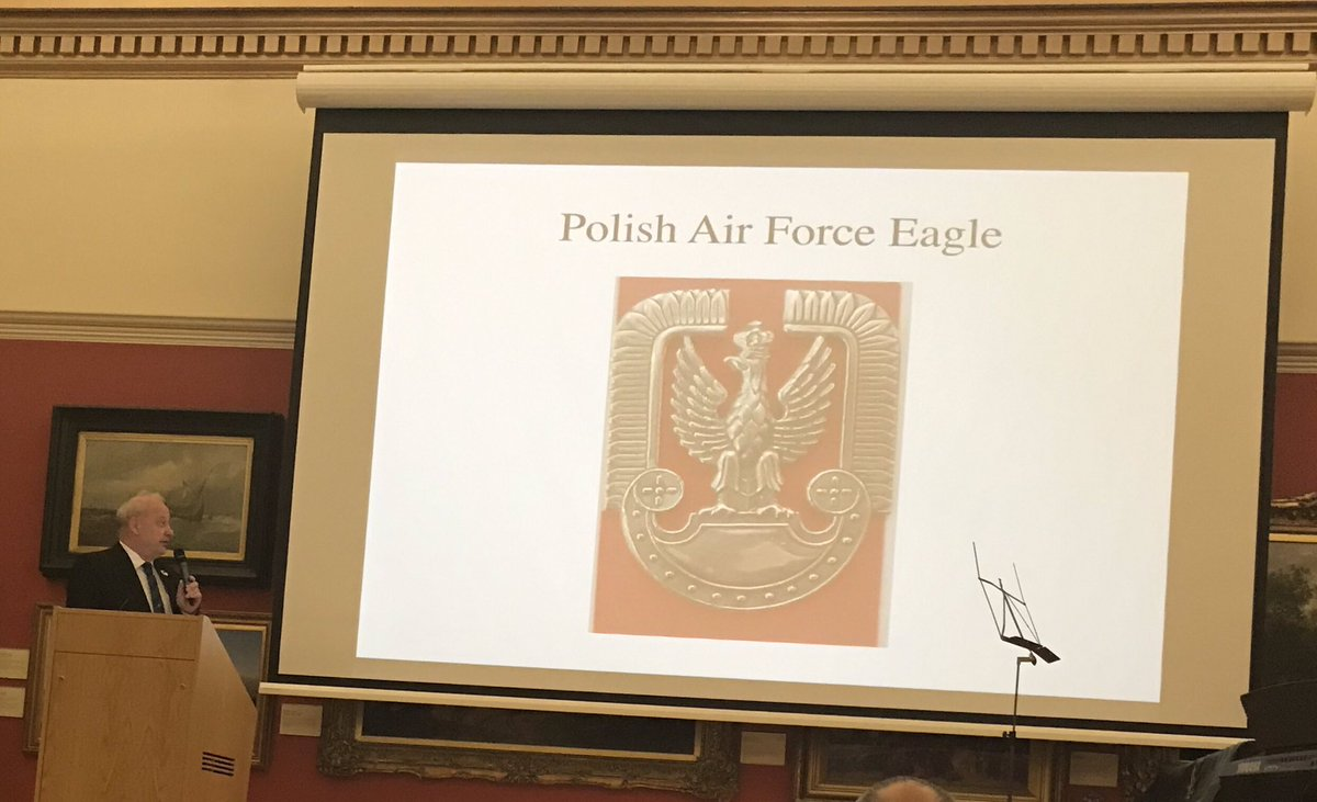 Also learning about the Polish Air Association - varied and interesting programme put together by @ProjectPolska1