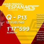 [INFO] 🇪🇸 Carlos Sainz arrancará duodécimo en el GP de España 👉 https://t.co/zZixcT8O20    🇬🇧 Carlos Sainz set to start from twelfth in the Spanish GP 👉https://t.co/aXaPI8IpER          #carlo55ainz #SpanishGP 🇪🇸 #F1