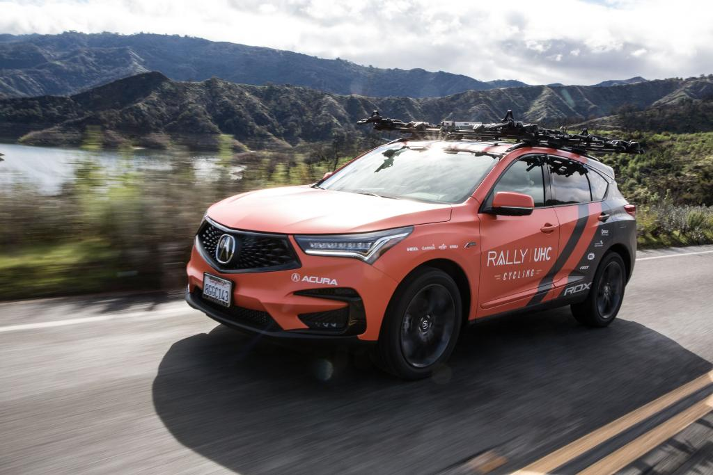 Built to perform. The #RDX rallies on the @RallyUHCcycling team this weekend. Good luck and go orange!