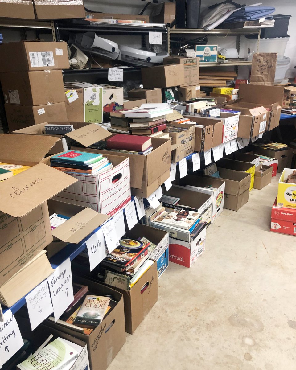 We are getting ready for the Saint Anthony Park Library Association Book Sale! The donations are coming in and our volunteers are sorting all of them. Join us Friday May 31 from 10-4 and during the Art Festival on Saturday, June 1 from 10-4. See you there!