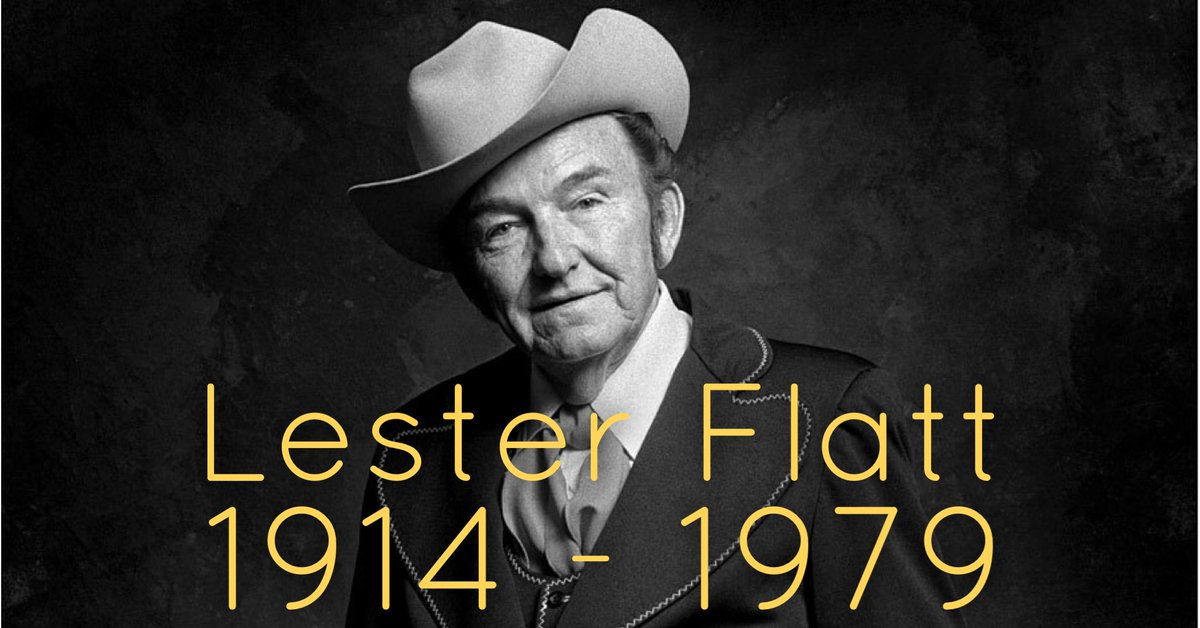 One of our heroes, Lester Flatt passed away 40 years ago today. He was truly one of the greats. What's your favorite Lester Flatt recording? #lesterflatt <br>http://pic.twitter.com/jBmPmQYYgp