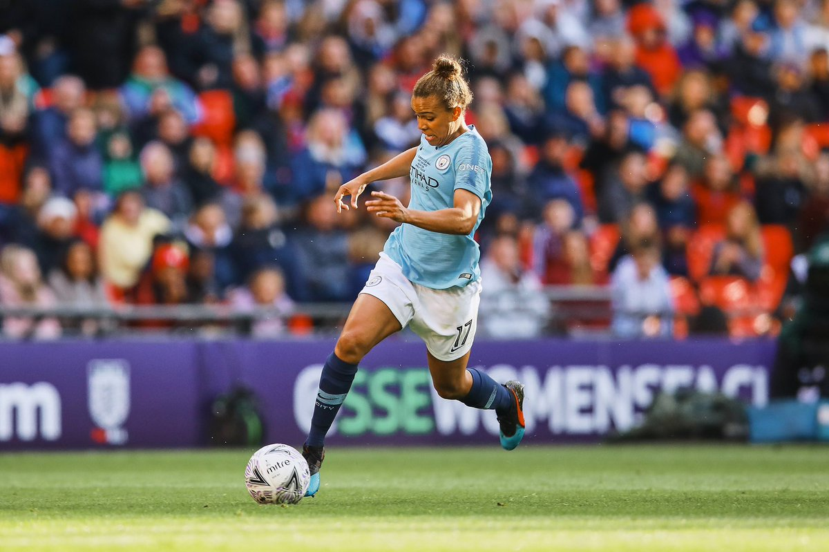After five years the moment has come, to call time on my career as a Manchester City Women's player...  Thanks to the fans for their support over the last 5 years, I've given this club everything & won everything trophy domestically possible to win.  Time for the next chapter...