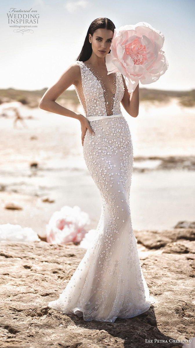"510da40243 Lee Petra Grebenau 2019 Wedding Dresses — ""Enchanted Blossom"" Bridal  Collection   Wedding Inspirasi ..."