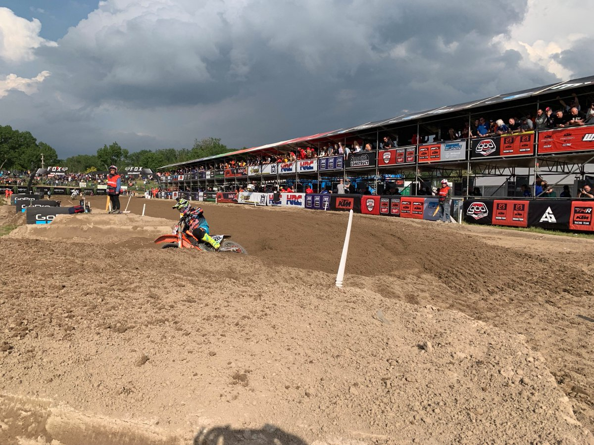 238f3e5b340 4th for  jorgeprado61 in MX2 and an all-clear for Tom Vialle who crashed    initially hurt his knee but is OK. 28th for Rene Hofer after a small tumble  from ...