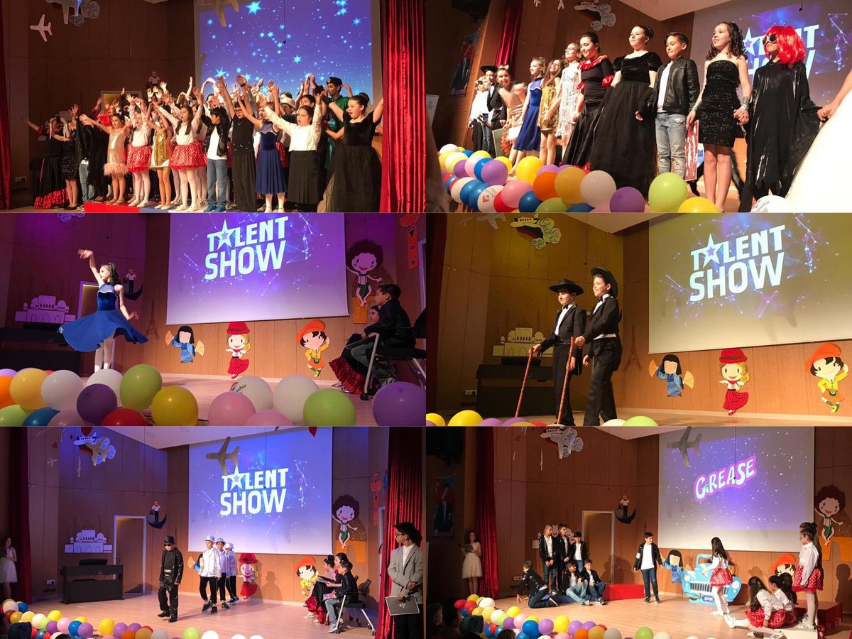 Our 5th grade students proved how much they have learnt and how to become global citizens during their End of Year Show which was prepared in Enlish and in German!!