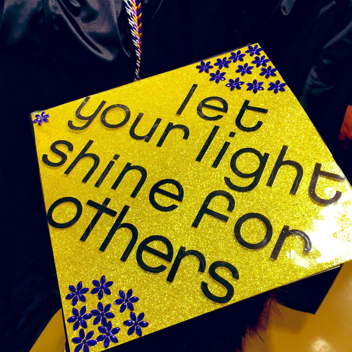 Your Golden light ✨🎓🐏 #WCUgraduation