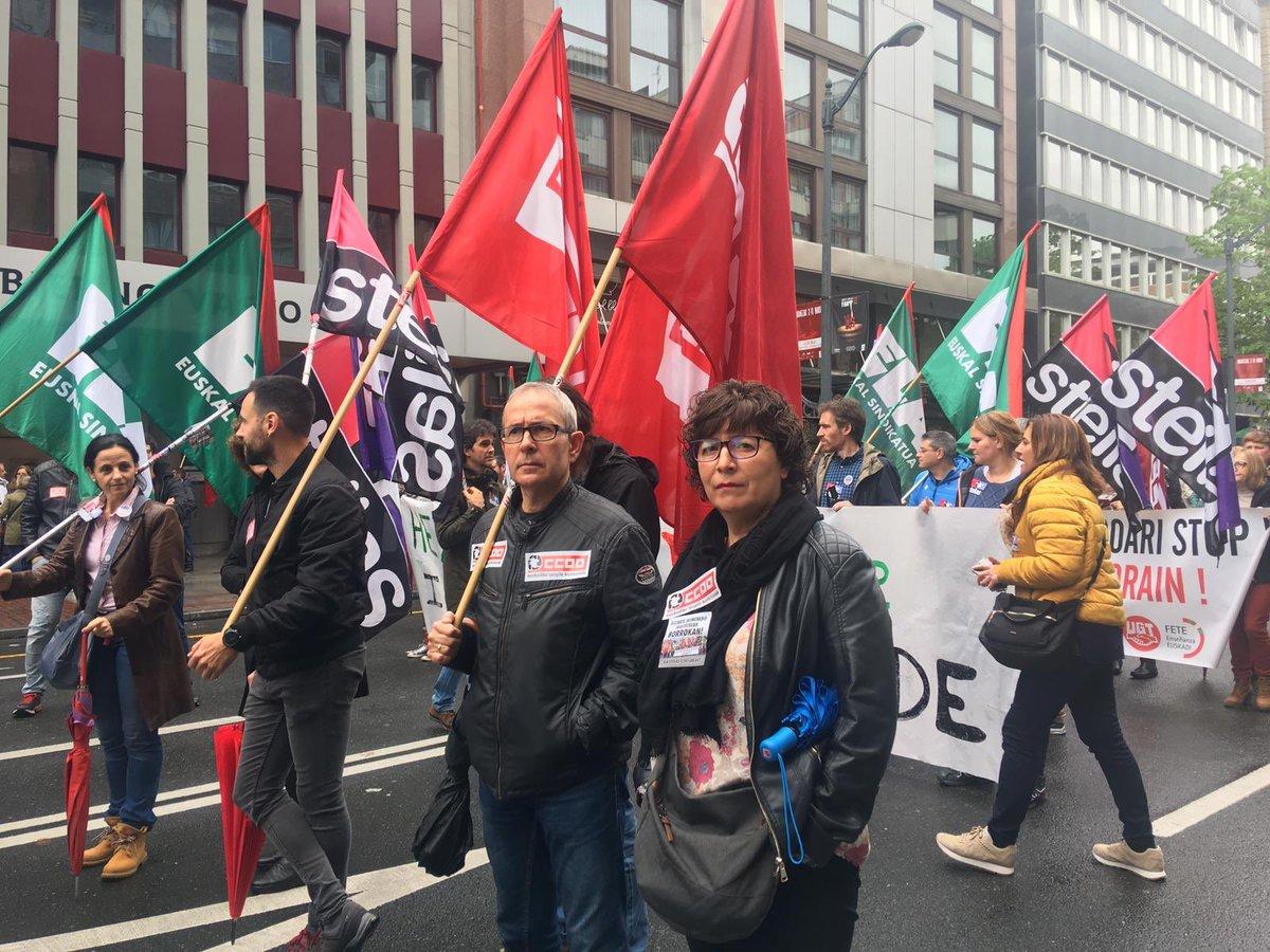 Seguimos tensionando la negociación colectiva con jornadas d huelga y movilización: Enseñanza Concertada Euskadi, Metal Bizkaia, Ayuda a Domicilio Bizkaia, Intervención Social Gipuzkoa. Porque los derechos se conquistan!! 🔥🔥Ni un paso atrás🔥🔥 #AurrerantzCCOO #CCOOseMueve