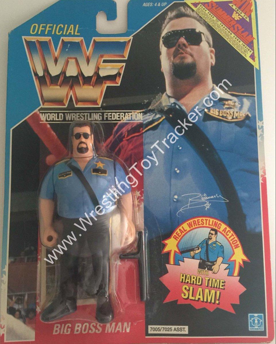 Wrestling Toy Tracker On Twitter The Bigbossman Wwf