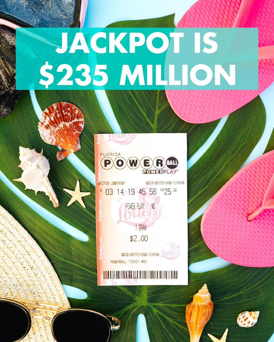 Florida Lottery On Twitter This Jackpot Is Just Beachy Like
