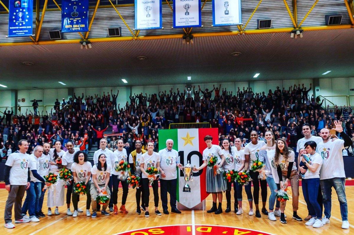 7ef9a3bff53b  famila  Schio  Italy  basketball  women  Champions  10th  scudetto