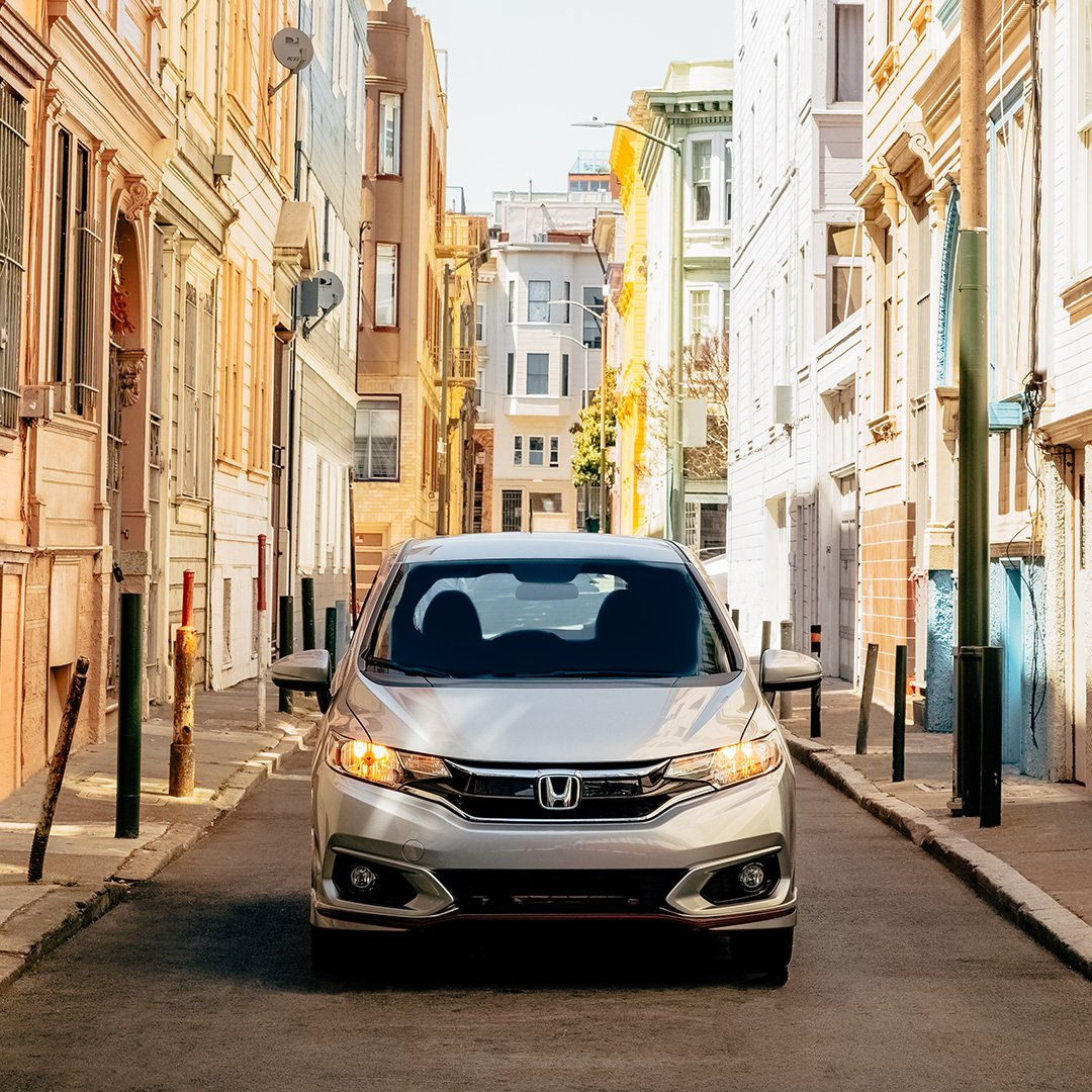 Go from coast to coast in the 2019 #HondaFit. It's compact enough for the road and offers maximized cargo space for your road trip. Where will you take it?