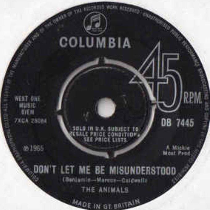 The Animals Don t Let Me Be Misunderstood Happy 78th Birthday to singer Eric Burdon