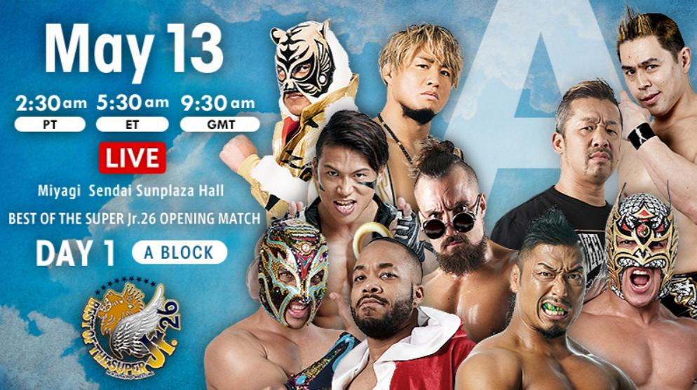 "NJPW: ""Best of the Super Jr. 26"" Día 1 Cae Dragon Lee, gana Titán 2"