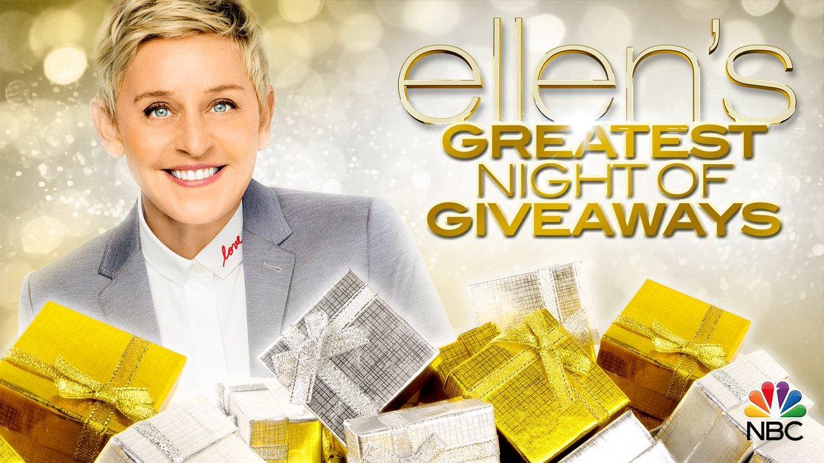 Ellens summer giveaway