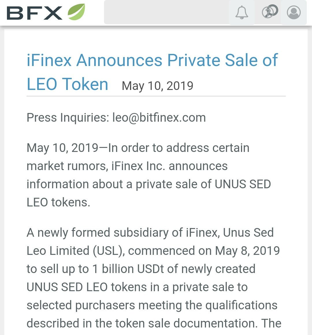 Oh wow!!! They are actually going thro | LEOcoin news