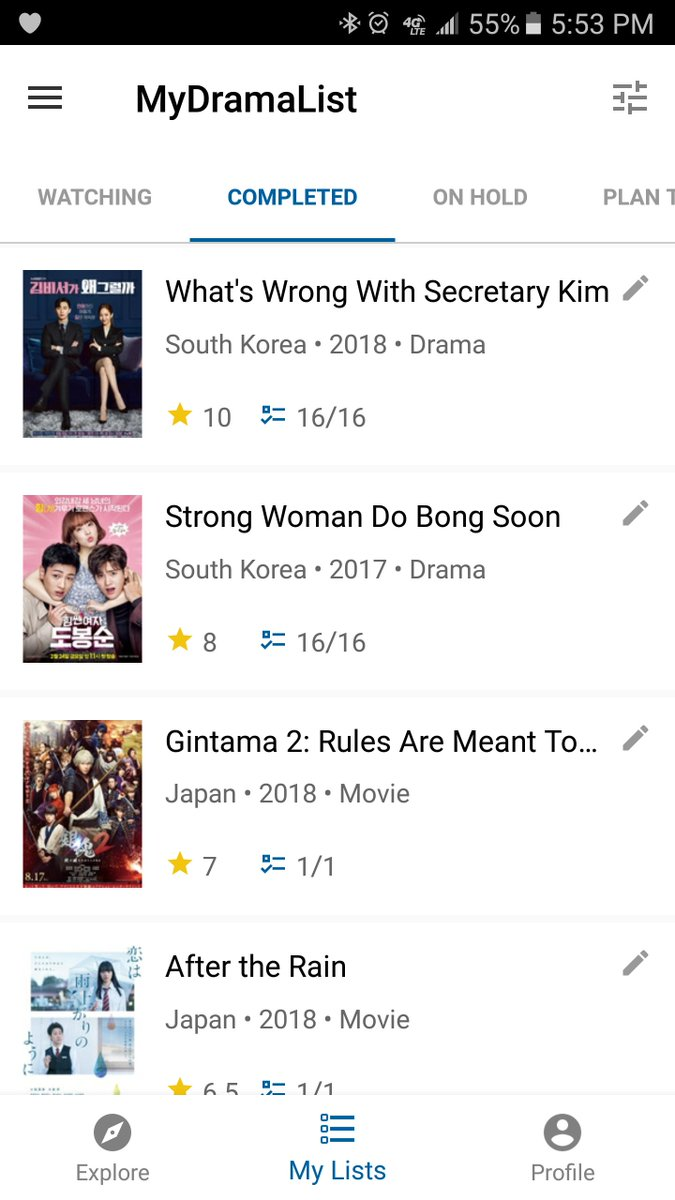 Soon! The beta version of the MyDramaList App [Android] is