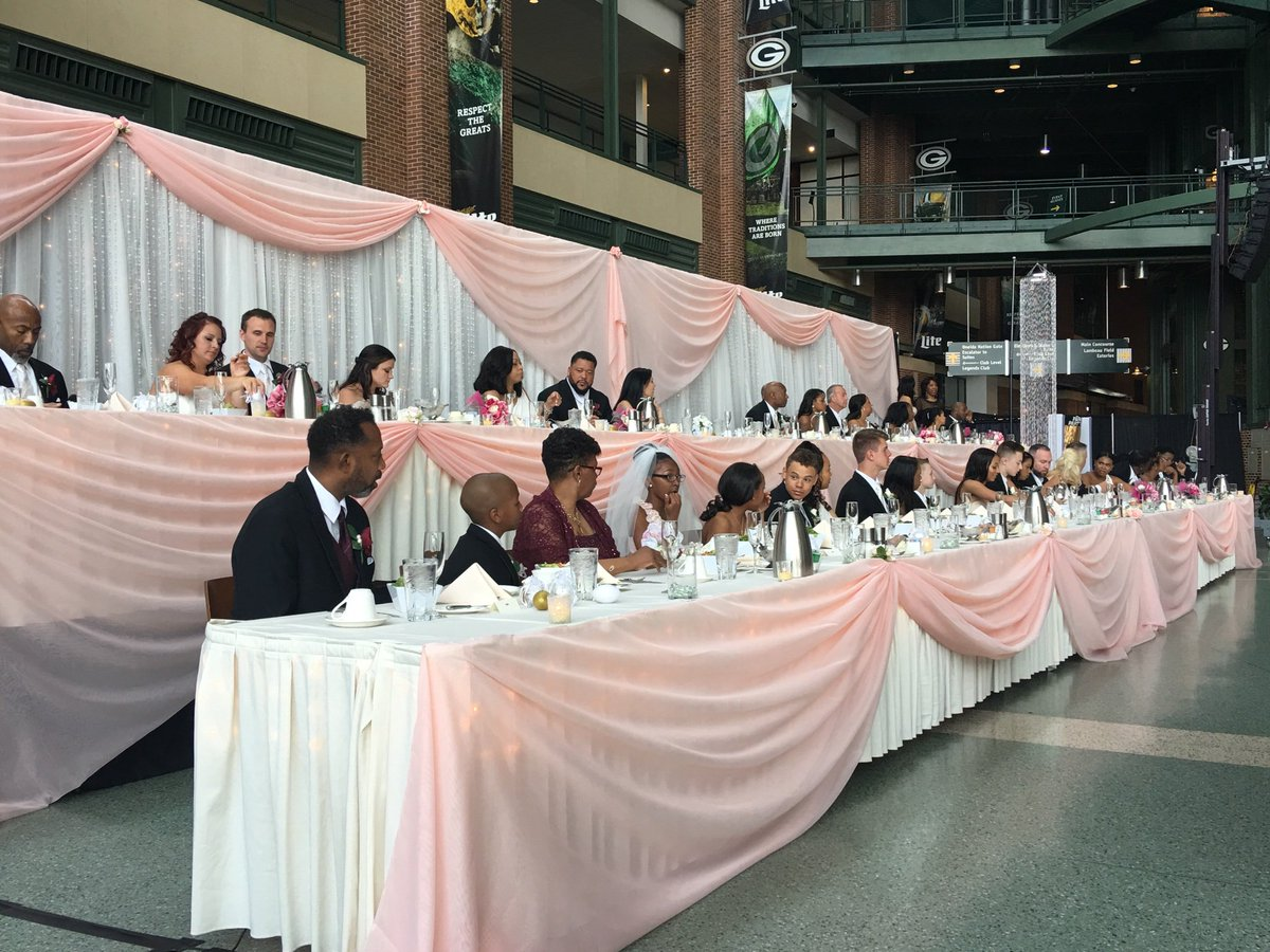 LeRoy Butler incorporated the 'Lambeau Leap' into his Saturday wedding in Green Bay