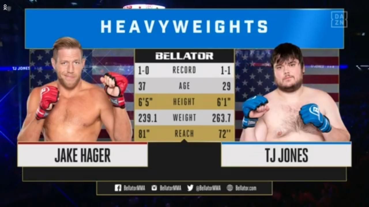 Jack Swagger vs. el imponente TJ Jones