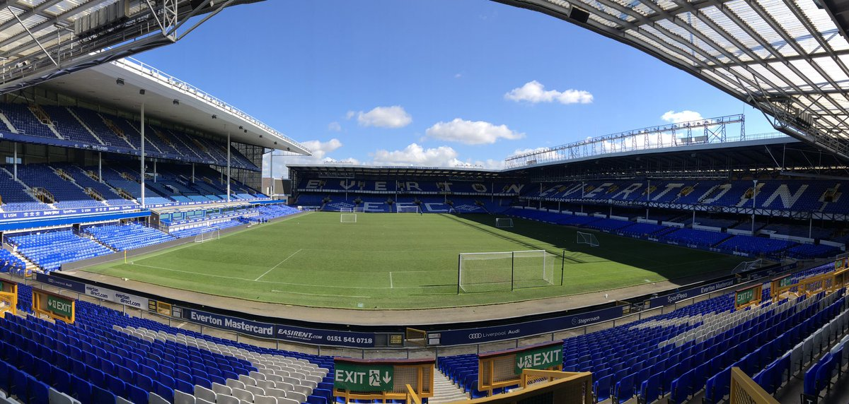 ⚽️ | We are at Goodison Park today for our Academy End of Season Event #COYBG