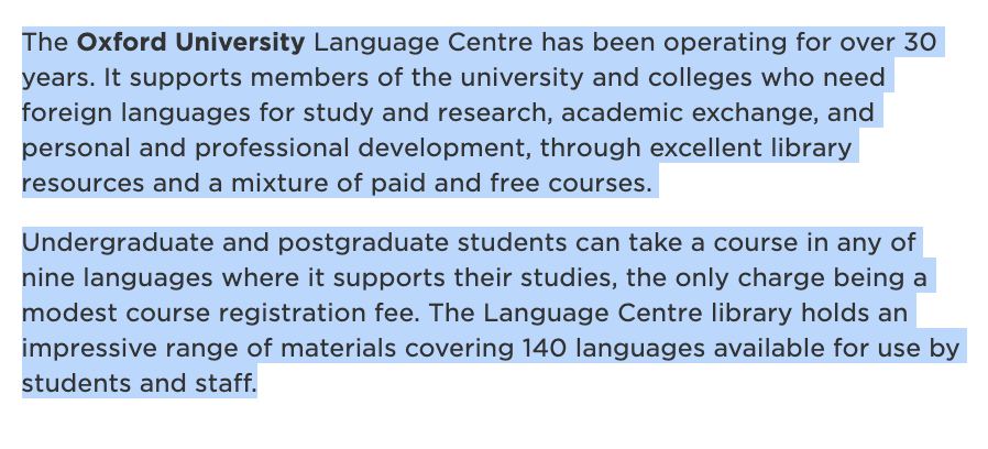 @OxfordUCU members: we&#39;re losing our terrific Language Centre library, home to materials in 203 languages. Please help us #SaveOurLanguageLibrary by letting the @UniofOxford know  we value language teaching &amp; learning, esp. in this era of #BrexitMayhem <br>http://pic.twitter.com/XPtM5p4QkH