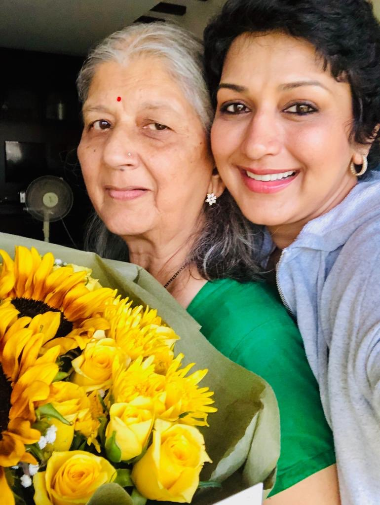 As I've realized, life doesn't come with an instruction manual... it comes with a Mother. That's all the assurance a child needs, no matter how old they grow up to be❤ I'm blessed to have twice the assurance in the form of my Aai and my Mom in my life - Happy Mother's Day!
