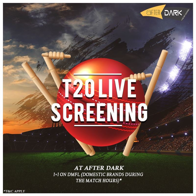 Let our exclusive #offers on DMFL bowl you over as you watch the #IPL #Finals. Tag your squad and head to #AfterDark, @ExpressInnNasik! . . . @preferredhotels #ExpressInnNashik #Nashik #CricketFever #LiveScreening #Food #Drinks #IPLCraze #Alcohol #ThePreferredLife #India