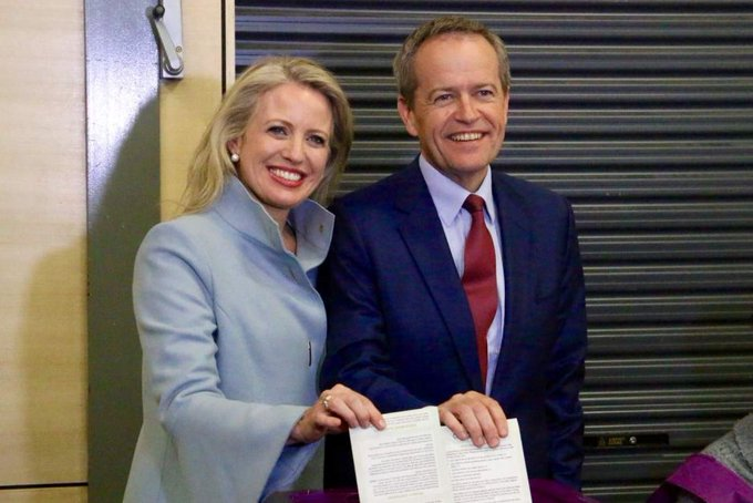 And happy Birthday to Bill Shorten too - our next PM! .  ! week to go till Scumo is booted out-hopefully. (MG)