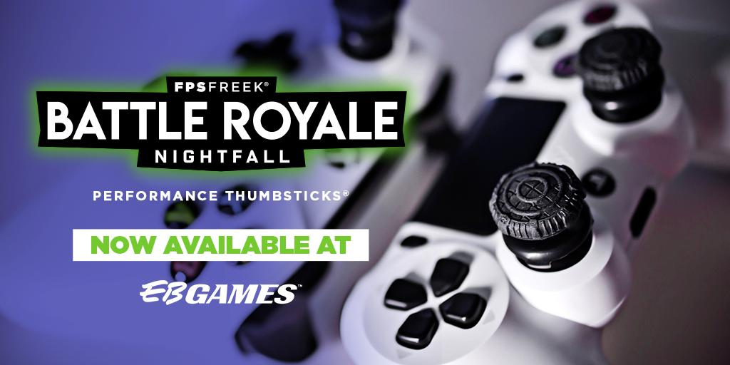 To celebrate Kontrol Freek Performance Thumbsticks being available at EB Games, we have a $100 Gift Card to giveaway! 👌   For your chance to WIN, like and RT this post! Good luck. 👍