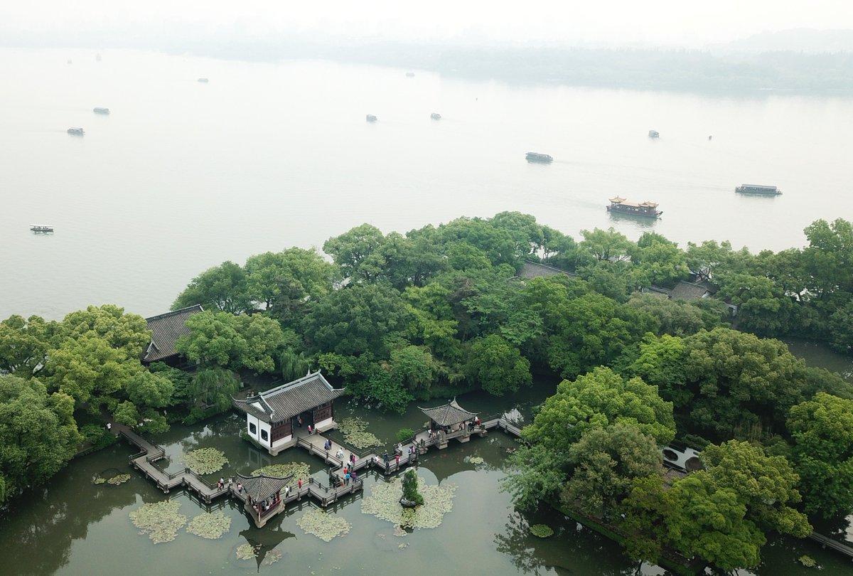 xinhua china anhui laian pond cypress scenery scenery - HD1200×810