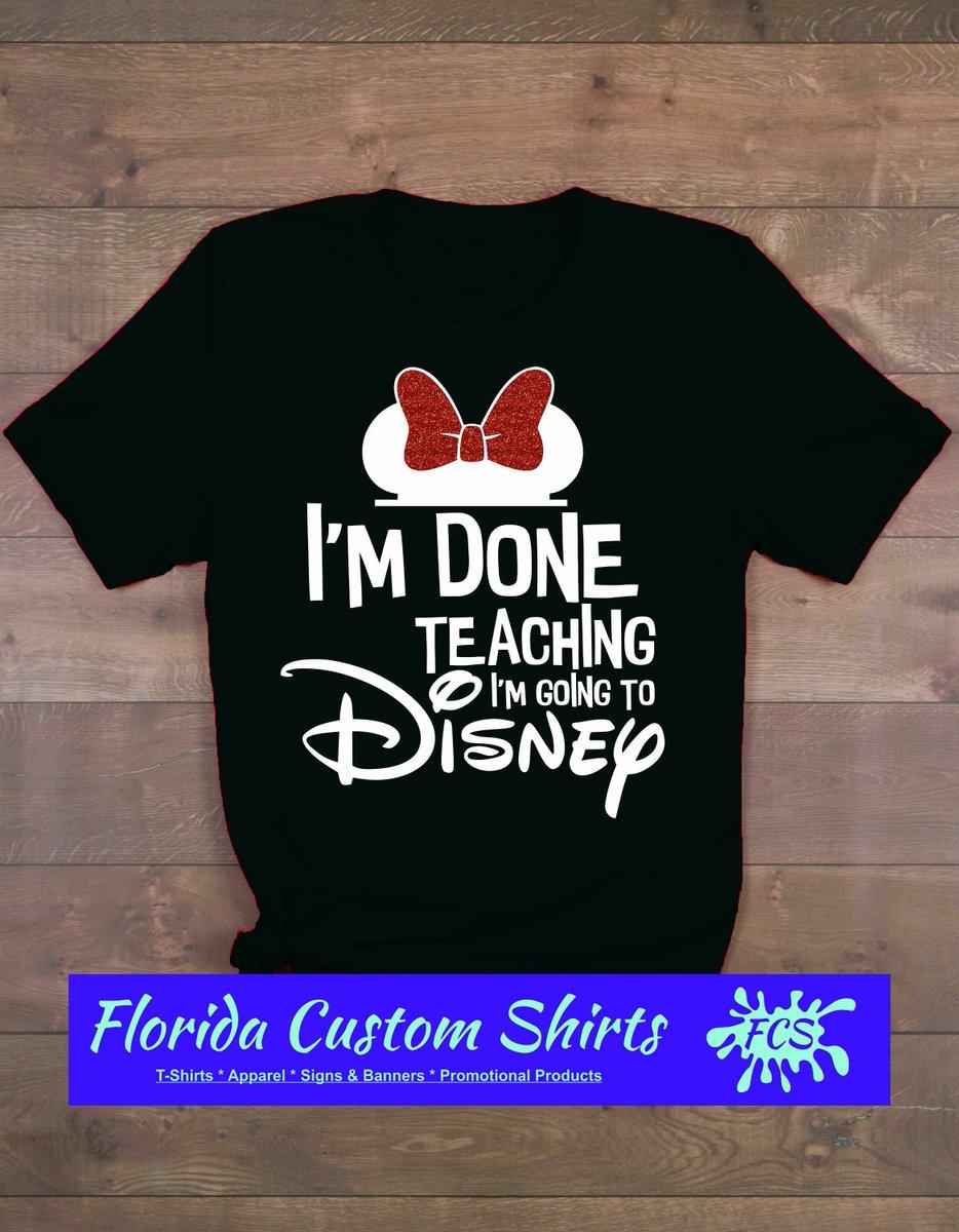 def9f09aeacf ... Teaching Shirts, I'm Done Teaching I'm Going to Disney, Minnie Mouse  Shirt, Disney Shirts, Disney Family Shirts 302 https://etsy.me/2WFHLlw  #clothing ...