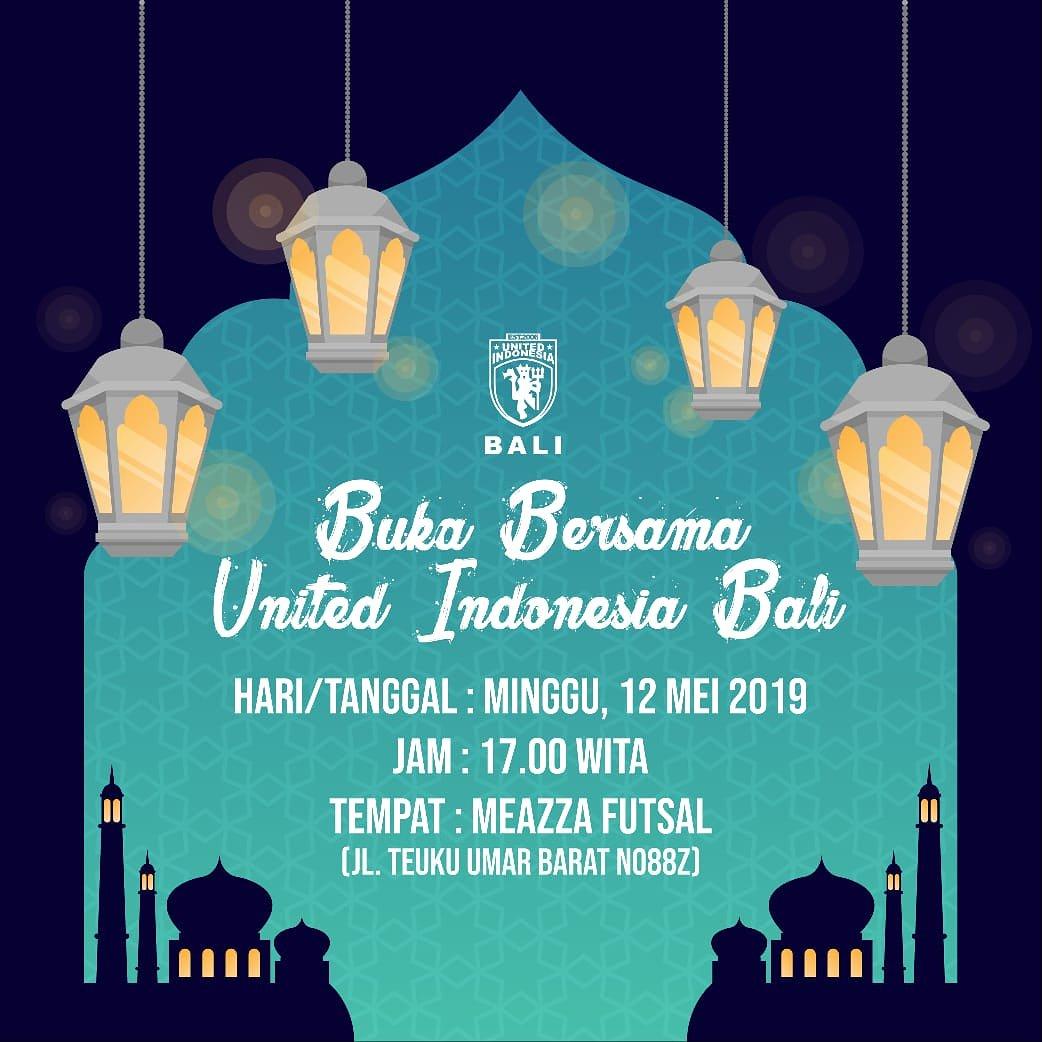 [Event This Week] Bulan Ramadhan 1440 H (12 Mei 2019)  Berbagai rangkaian event yang diselenggarakan oleh chapter United Indonesia selama bulan Ramadhan 1440 H  Jangan lupa untuk datang bergabung dan ikut meramaikan ya, guys! 👍😉  #UtdIndonesia #UnitedTogether #BeUnitedBeSocial