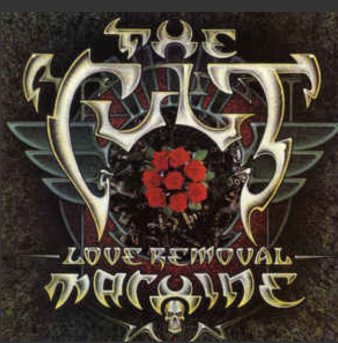 The Cult Love Removal Machine from the album Electric. Happy Birthday to my friend, guitarist Billy Duffy
