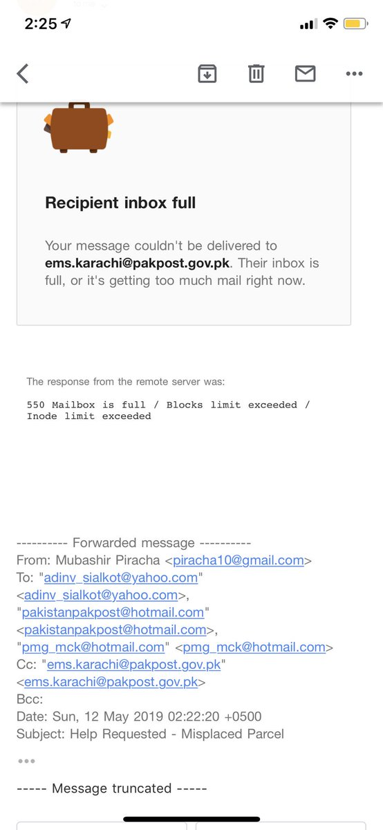 New email address uk