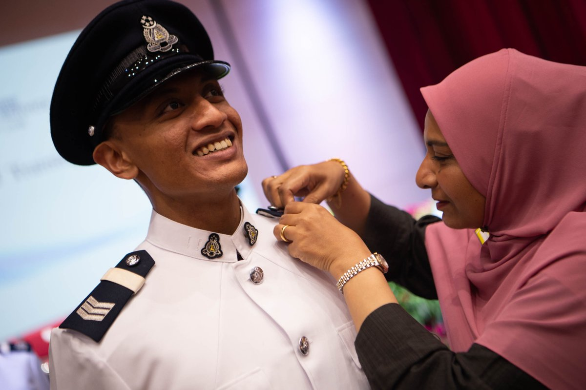 This Mother's Day, SGT Muhammad Nurhakeem Bin Sukor is grateful for his mother who has always taught him to be an honest man in everything thing that he does. Wishing all mothers a #HappyMothersDay! https://t.co/CVJDUiPfRh