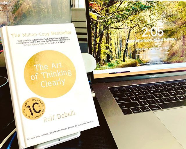 test Twitter Media - I really needed some tips on thinking clearly today! Perfect book 📖#ThinkClearly #books #bookish #bookstagram #bookworm #bookclub #ArtOfThinkingClearly #RolfDobelli https://t.co/3St7nE6Cfq https://t.co/pzu4y6i1DJ